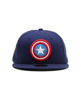 X Captain America logo cap