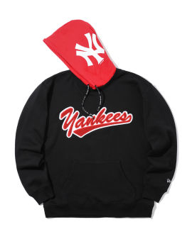 New York Yankees contrast hood hoodie