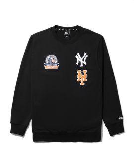 X MLB New York Yankees patterned sweatshirt