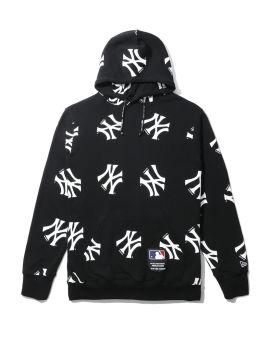 X MLB New York Yankees logo hoodie