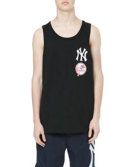 MLB New York Yankees logo tank top