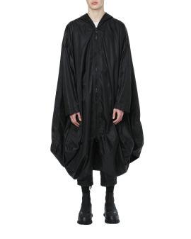 Oversized drape coat