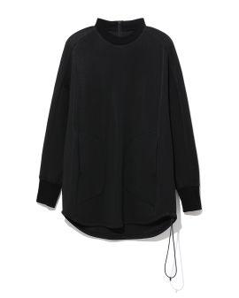 Back zip sweatshirt