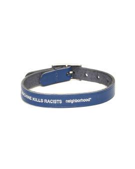 X Porter Racists leather bracelet