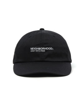 Logo embroidered cap