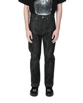 Rigid selvedge jeans