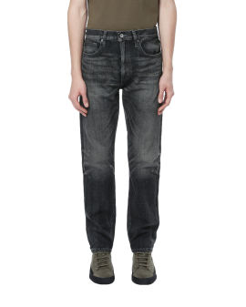 Washed DP narrow jeans