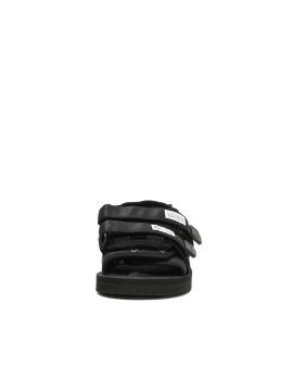 Label patch sandals