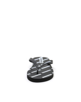 Logo print sandals