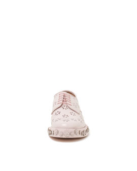 Floral oxford shoes