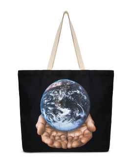 Our planet is in your hand tote bag