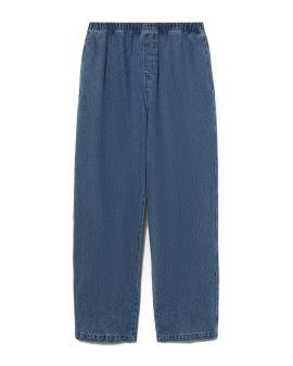 Easy denim pants