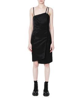Strappy asymmetrical dress