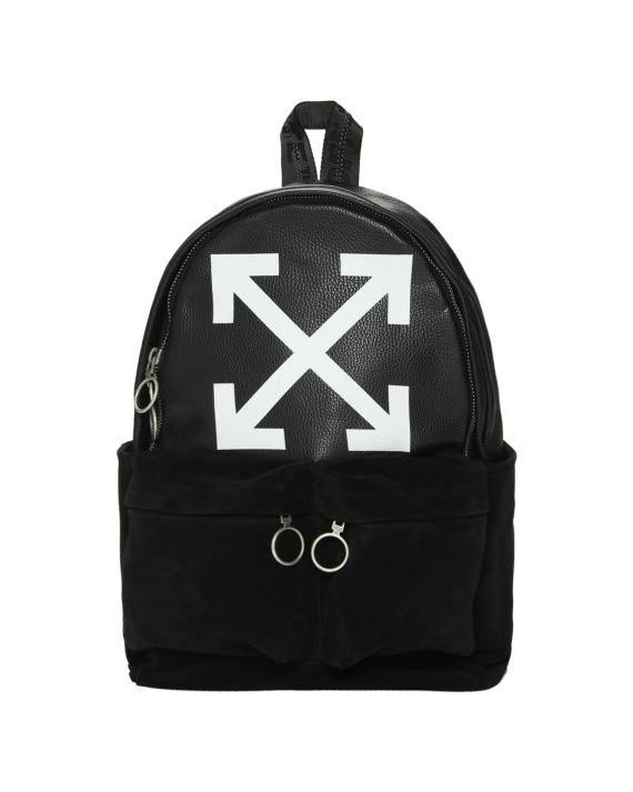 fbb3c88cde81 OFF-WHITE c o VIRGIL ABLOH™ Arrow leather backpack