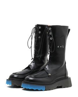 Sponge combat boots
