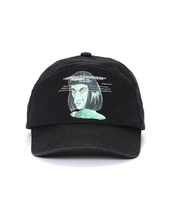 7438220f78c132 OFF-WHITE c/o VIRGIL ABLOH™ Green Man snapback cap