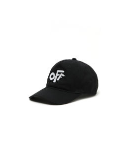 Rounded logo baseball cap