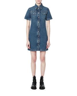 Denim new shirt dress