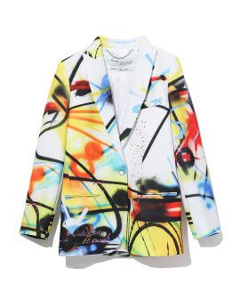 Futura spray tomboy jacket
