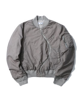 Twist bomber jacket