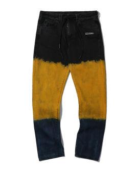Slim shoelace tie jeans