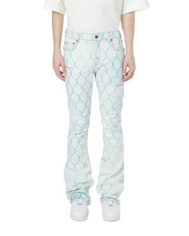 Fence skinny stacked jeans