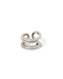 Paperclip metal ring