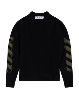 Rever Arrow Diagonal sweater