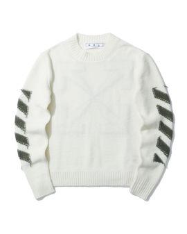 Reverse arrow sweater