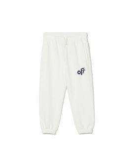 Rounded logo sweatpants