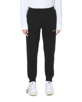 Logo short cuff sweatpants