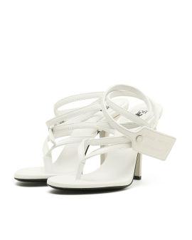 Zip-tie sandals
