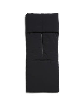 Padded 3D zip scarf