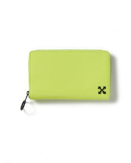 Neon zip wallet