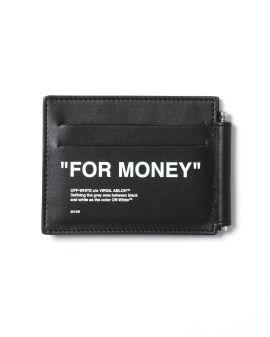 Quote bill clip wallet