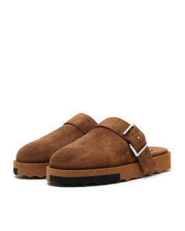 Comfort backless slippers
