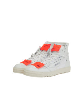 3.0 Off Court leather sneakers