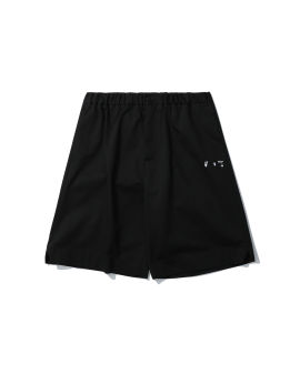 Embroidered logo lounge shorts