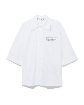 Popelin baseball shirt