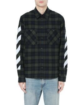 Diag flannel shirt