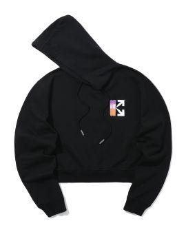 Gradient arrow hoodie