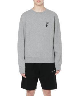Degrade arrow sweatshirt