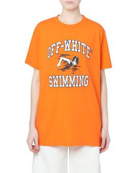 Swimming Over tee