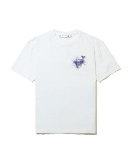 Scribbled logo graphic tee