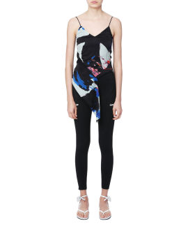 Brushstrokes Cut-out top