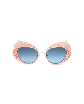 Embellished cateye sunglasses