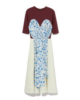 Layered flared dress