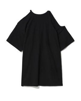 Asymmetrical cold-shoulder top