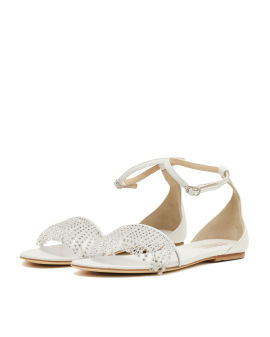Bella crystal tassels sandals