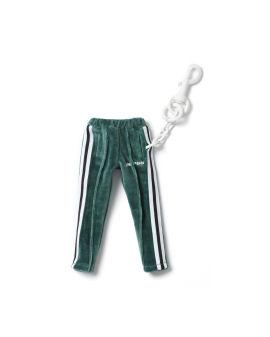 Chenille Mini Track Pants keychain